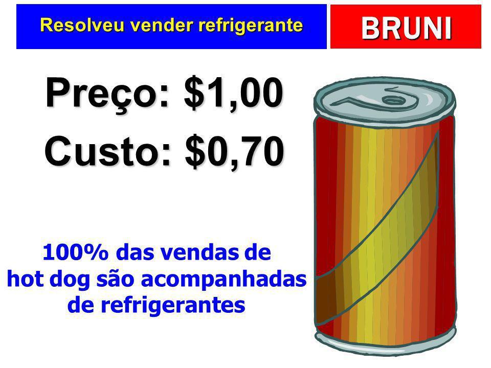 Resolveu vender refrigerante