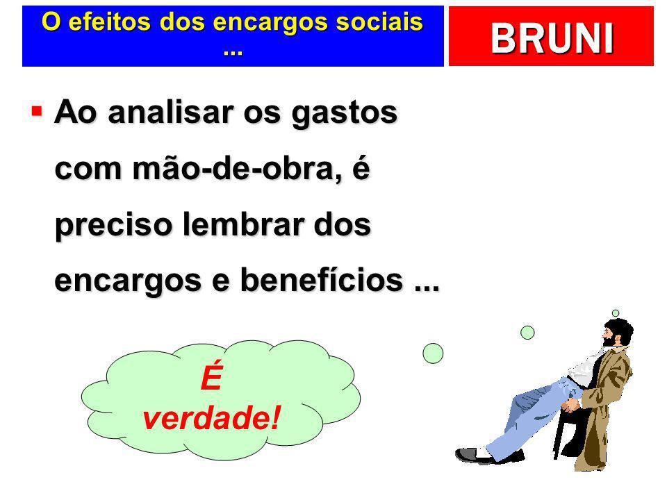 O efeitos dos encargos sociais ...