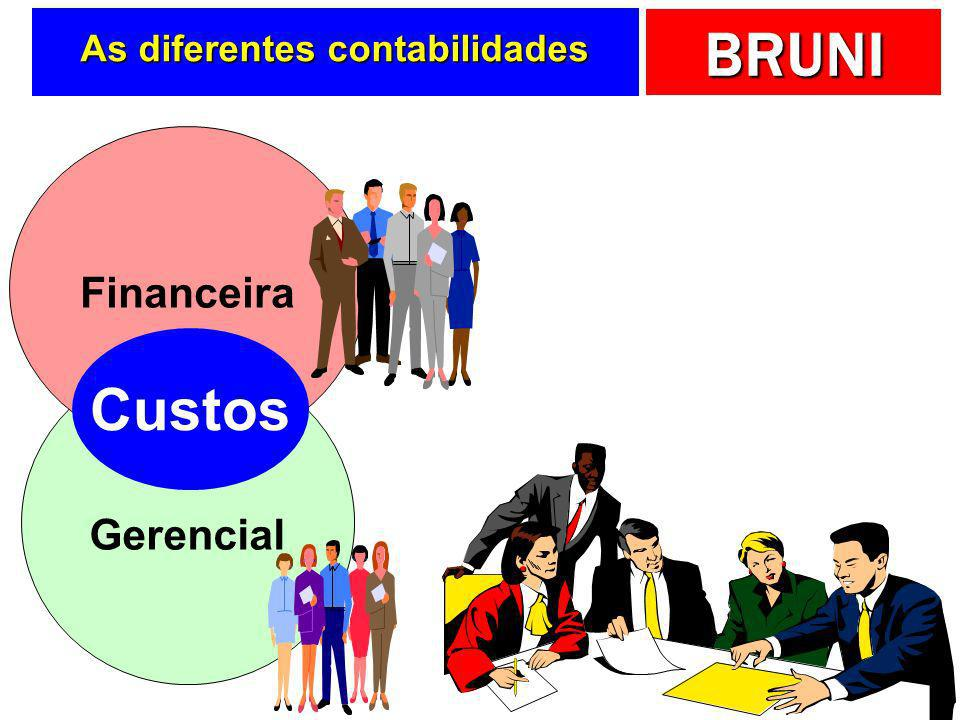 As diferentes contabilidades
