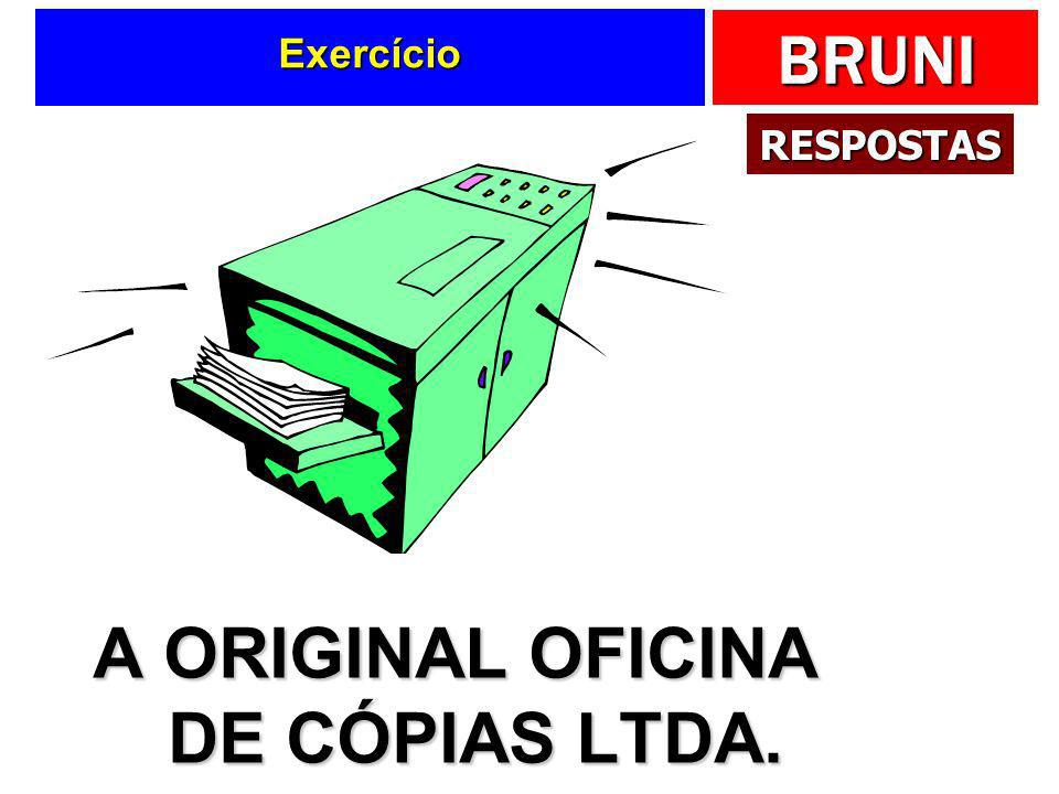 A ORIGINAL OFICINA DE CÓPIAS LTDA.