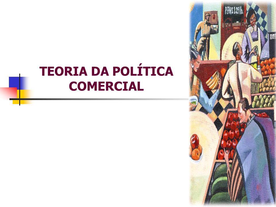 TEORIA DA POLÍTICA COMERCIAL