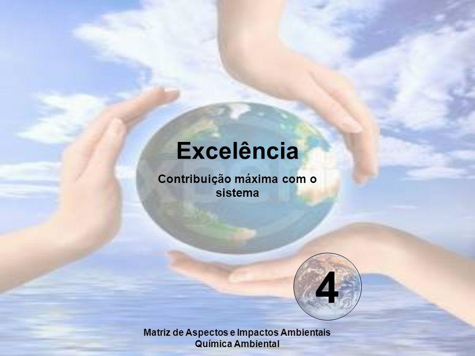 4 Excelência Contribuição máxima com o sistema