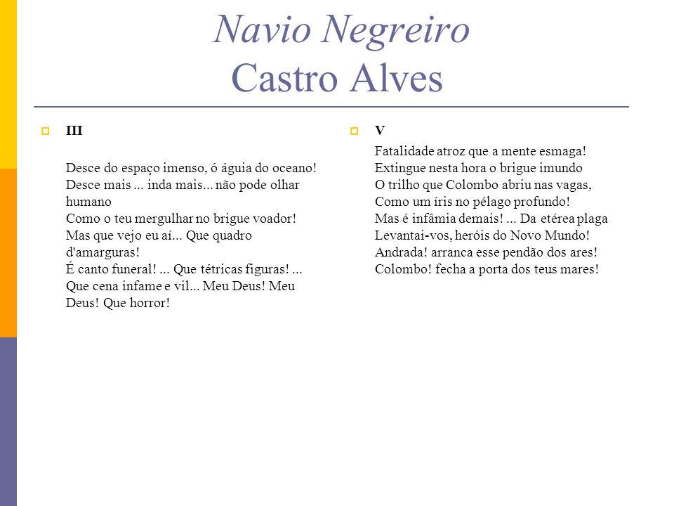 Navio Negreiro Castro Alves