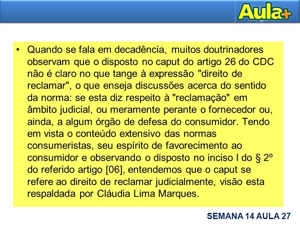 Artigo 26 cdc