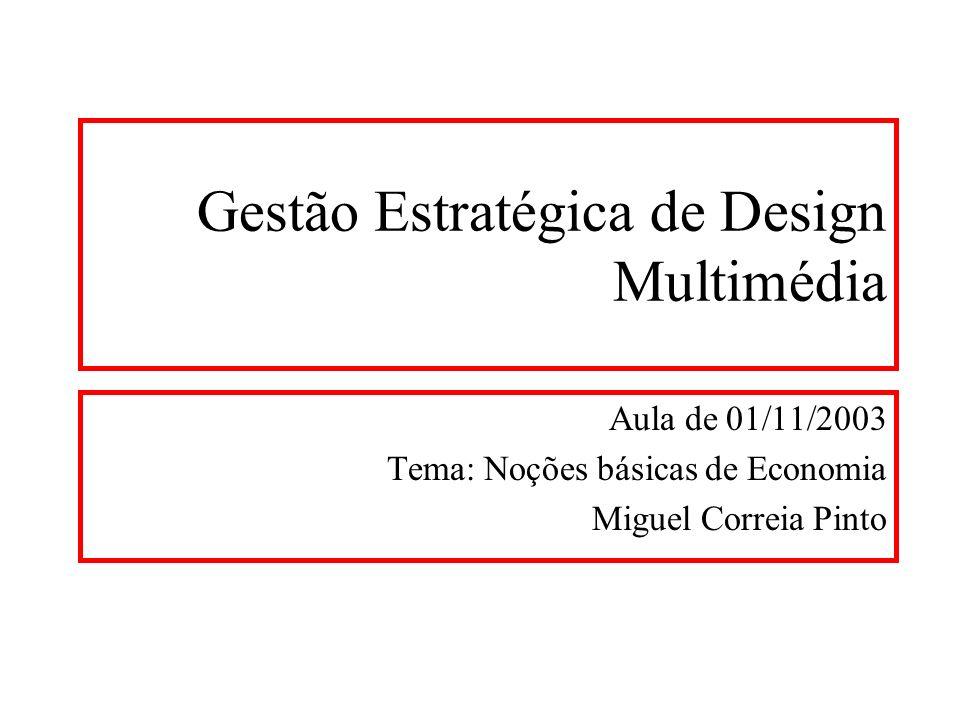 Gestão Estratégica de Design Multimédia