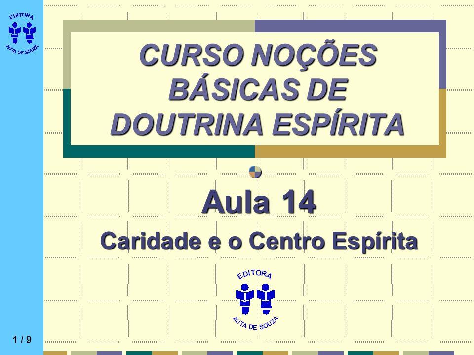 CURSO NOÇÕES BÁSICAS DE DOUTRINA ESPÍRITA