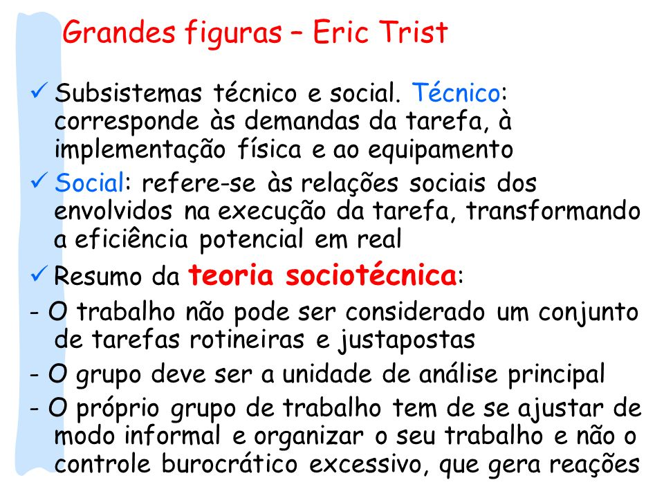 Grandes figuras – Eric Trist