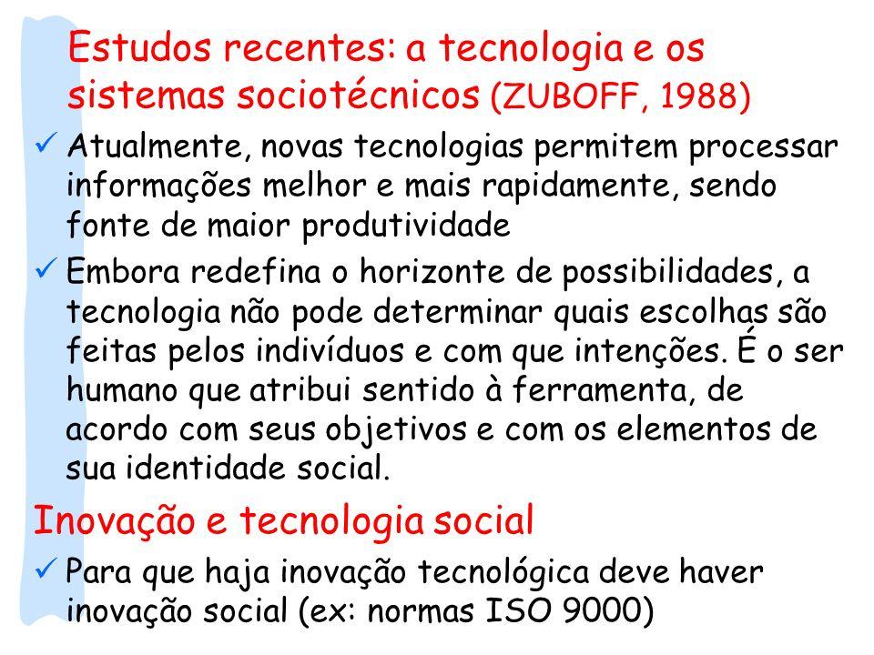 Inovação e tecnologia social