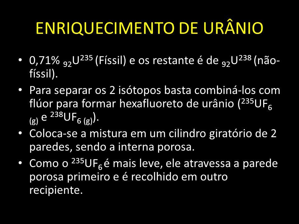 ENRIQUECIMENTO DE URÂNIO