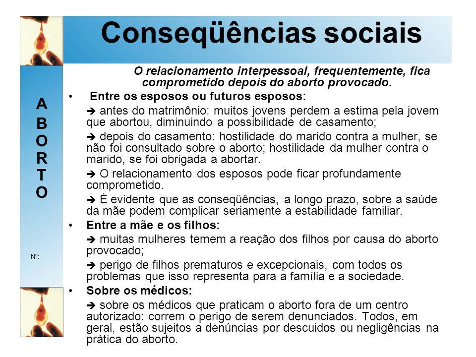 Conseqüências sociais