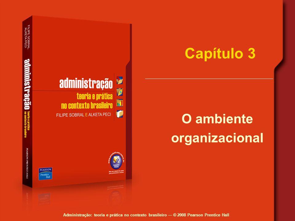 O ambiente organizacional