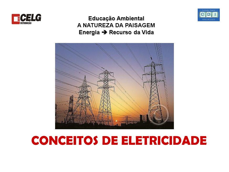 CONCEITOS DE ELETRICIDADE