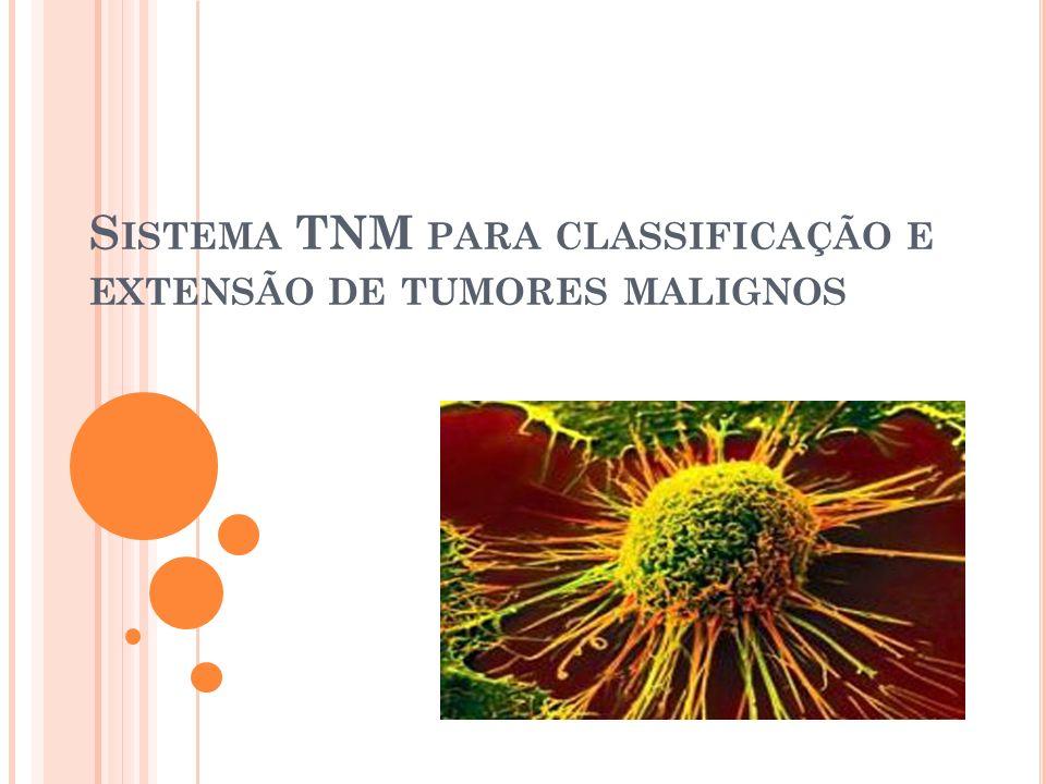 Sistema TNM para classificação e extensão de tumores malignos
