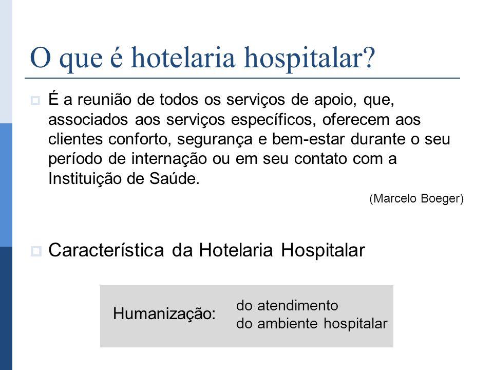 O que é hotelaria hospitalar