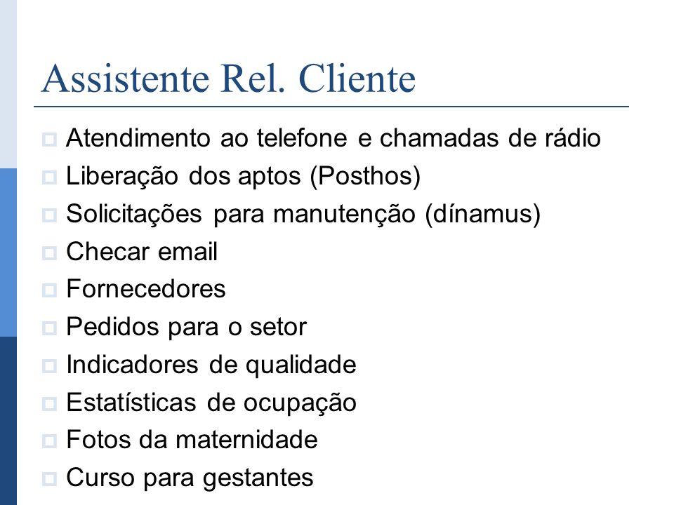 Assistente Rel. Cliente