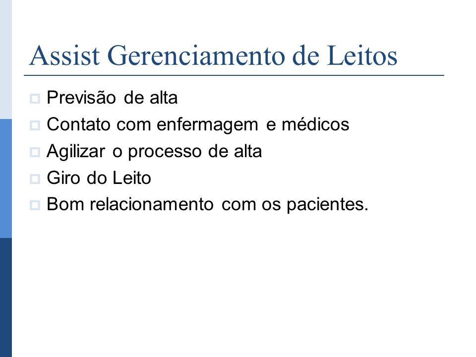 Assist Gerenciamento de Leitos