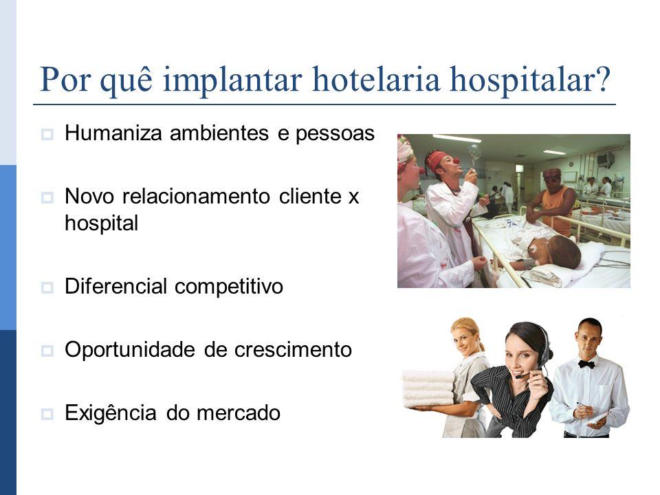 Por quê implantar hotelaria hospitalar
