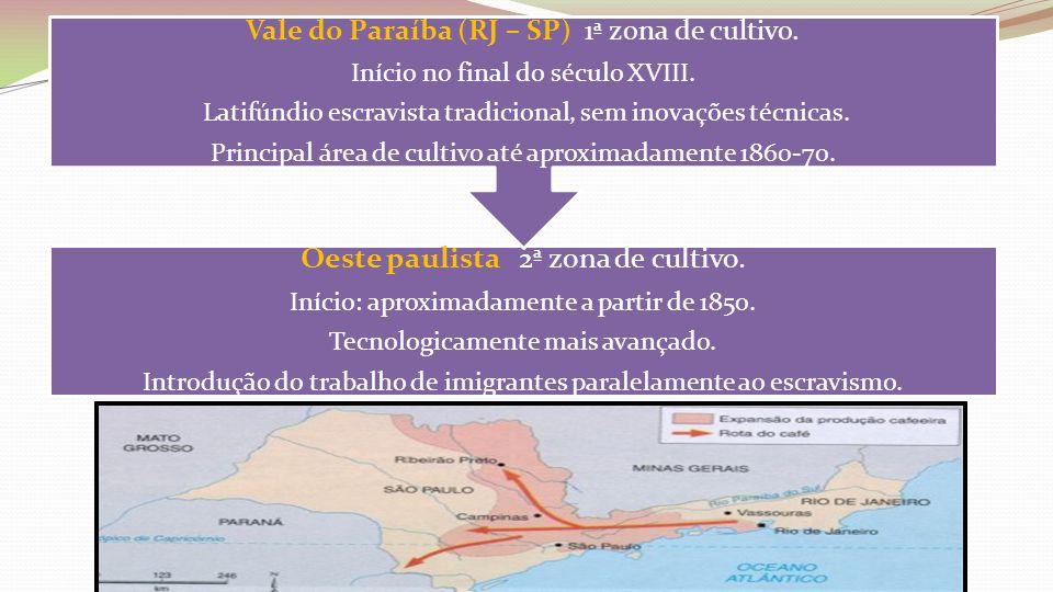 Oeste paulista 2ª zona de cultivo.