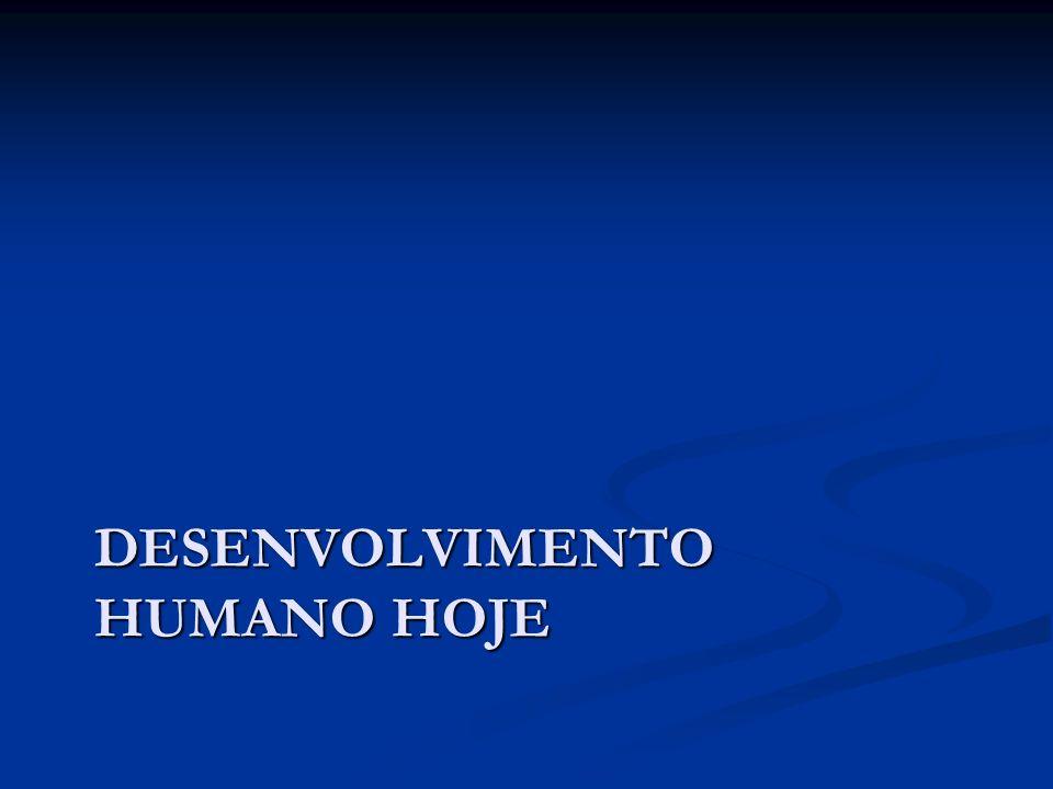 Desenvolvimento Humano Hoje