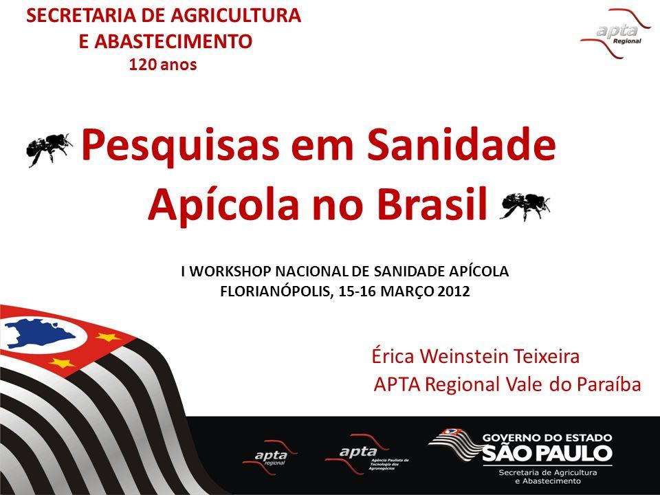 Pesquisas em Sanidade Apícola no Brasil