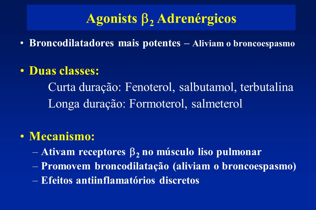 Agonists b2 Adrenérgicos