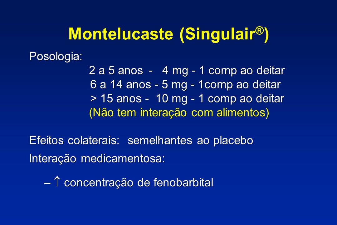 Montelucaste (Singulair®)