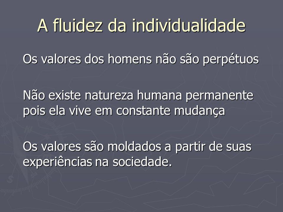A fluidez da individualidade