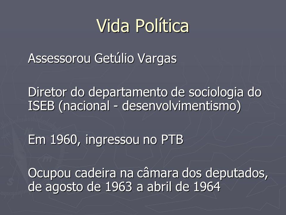 Vida Política Assessorou Getúlio Vargas