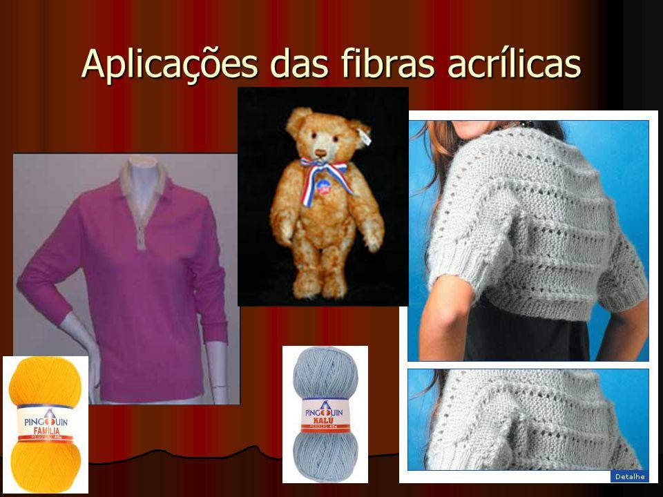 Aplicações das fibras acrílicas