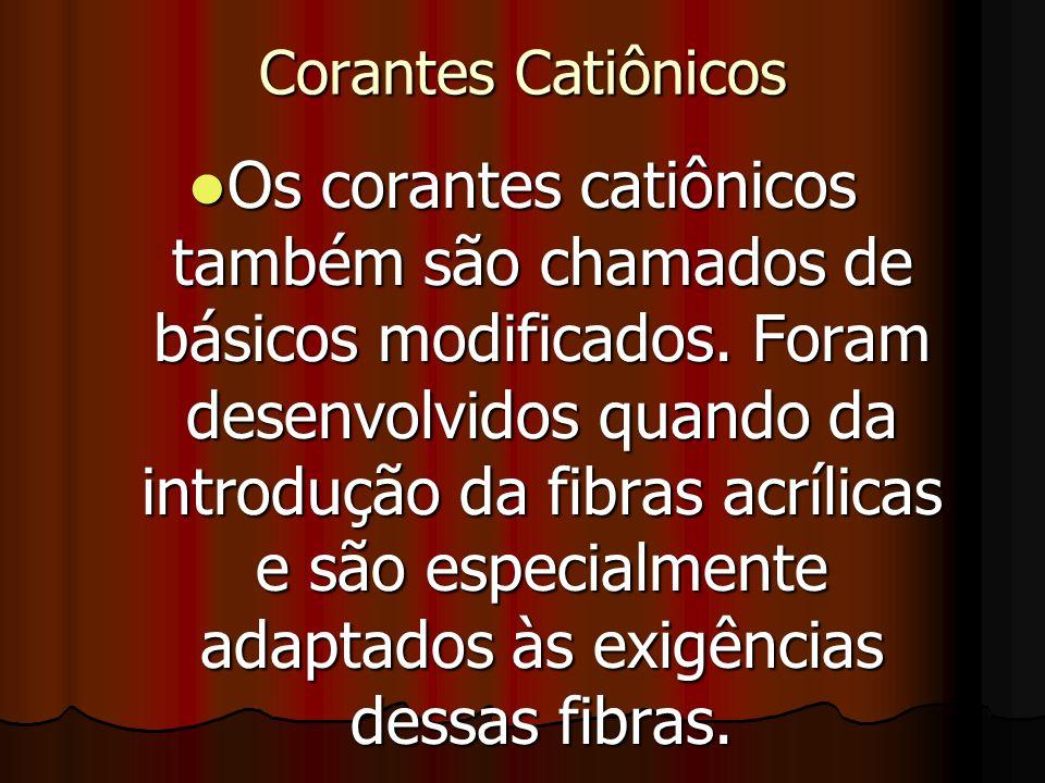 Corantes Catiônicos