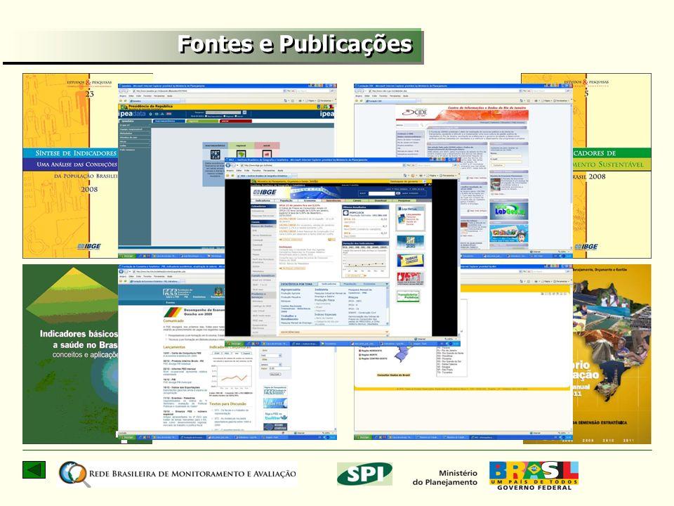 Fontes e Publicações