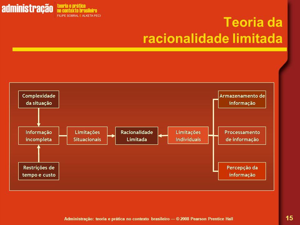 Teoria da racionalidade limitada