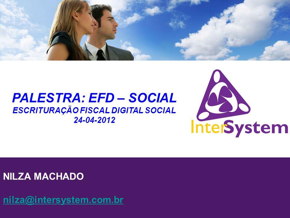 ESCRITURAÇÃO FISCAL DIGITAL SOCIAL