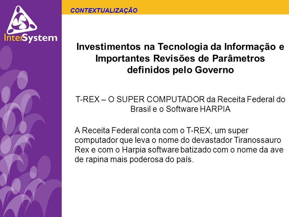 CONTEXTUALIZAÇÃO Investimentos na Tecnologia da Informação e Importantes Revisões de Parâmetros definidos pelo Governo.
