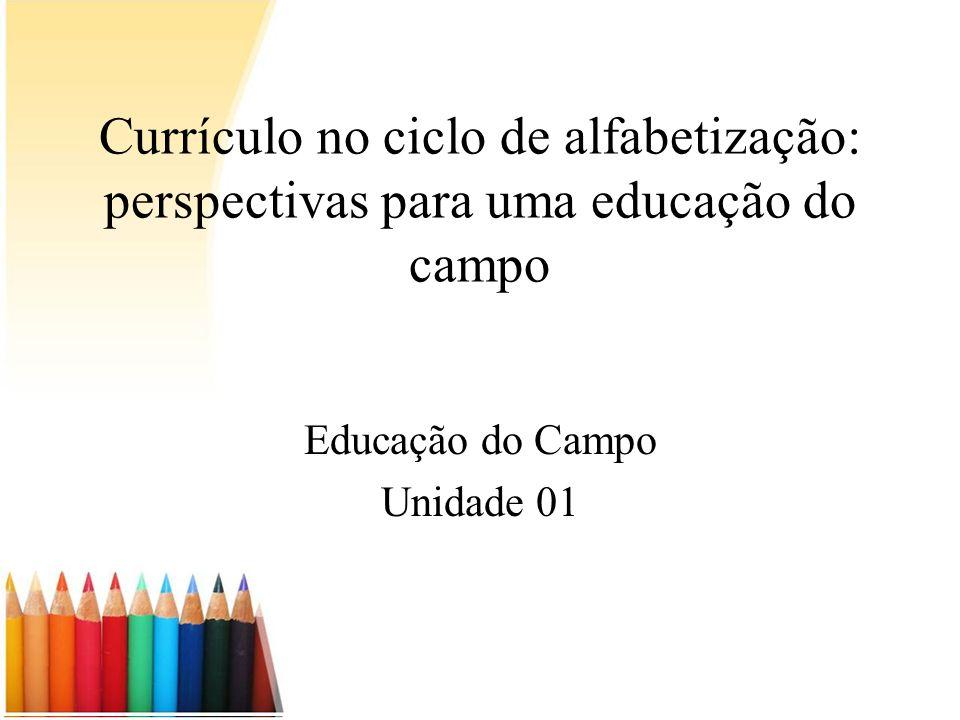 Educação do Campo Unidade 01