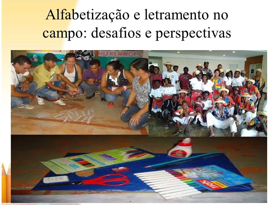 Alfabetização e letramento no campo: desafios e perspectivas