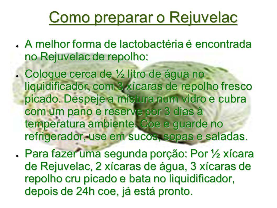 Como preparar o Rejuvelac