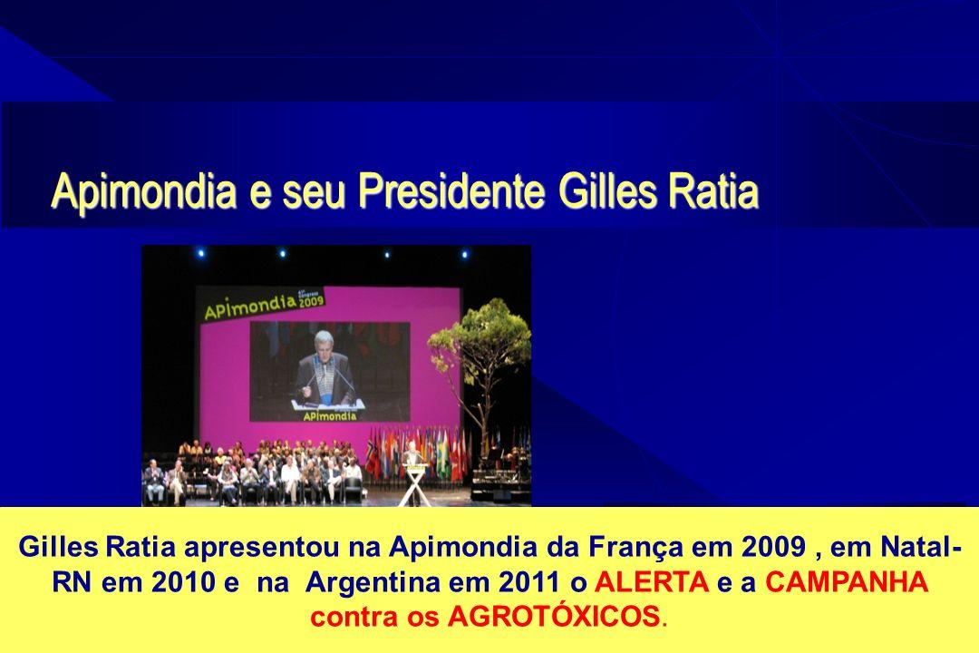 Apimondia e seu Presidente Gilles Ratia