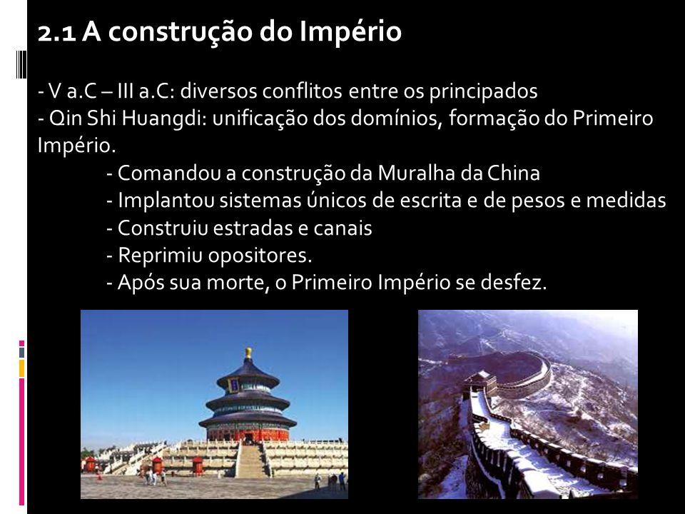 2.1 A construção do Império