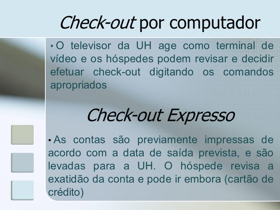 Check-out por computador