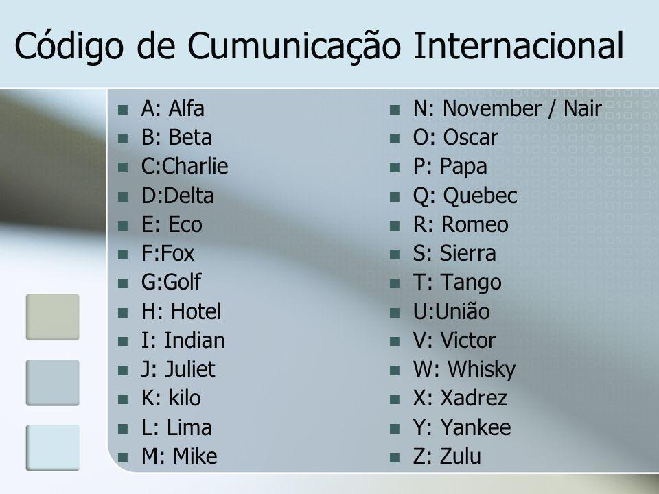 Código de Cumunicação Internacional
