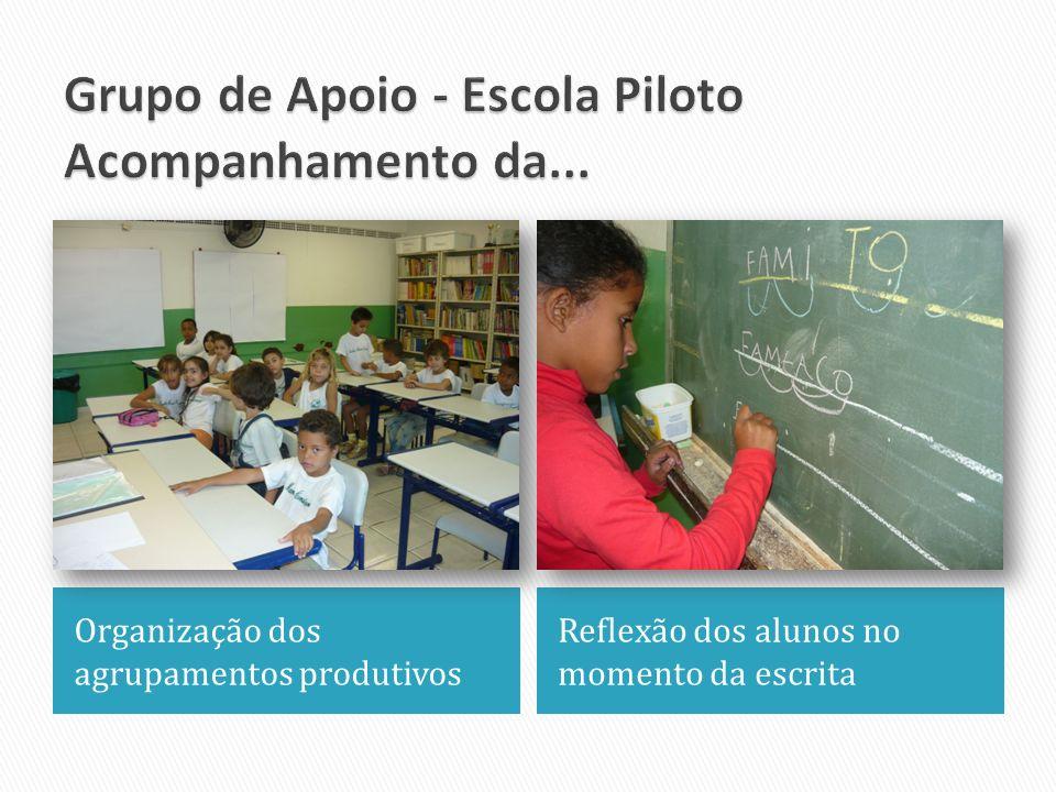 Grupo de Apoio - Escola Piloto Acompanhamento da...