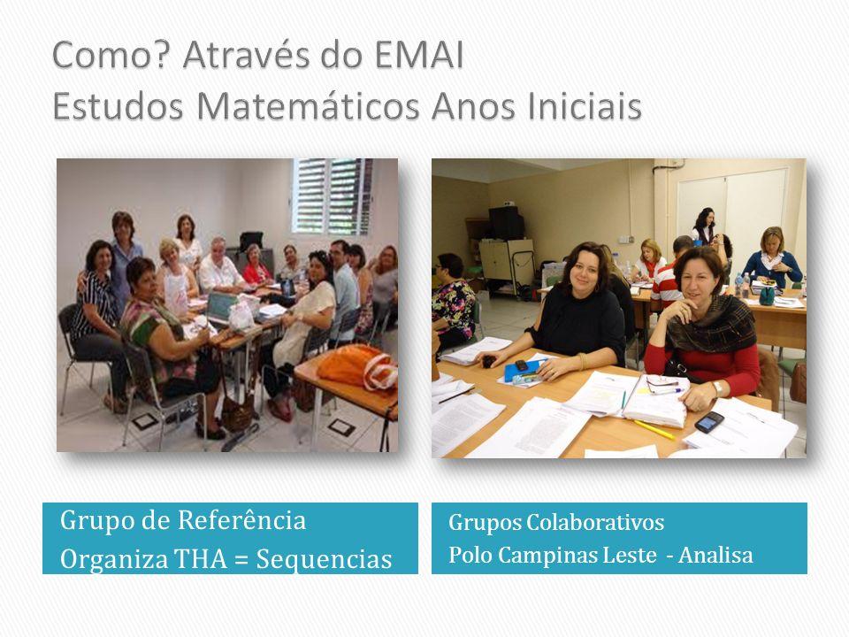 Como Através do EMAI Estudos Matemáticos Anos Iniciais