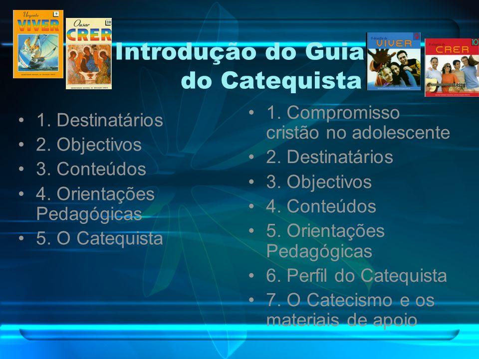 Introdução do Guia do Catequista