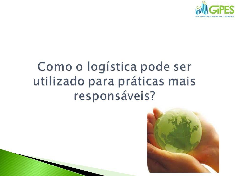 Como o logística pode ser utilizado para práticas mais responsáveis
