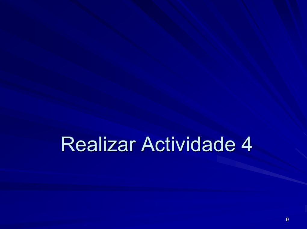 Realizar Actividade 4