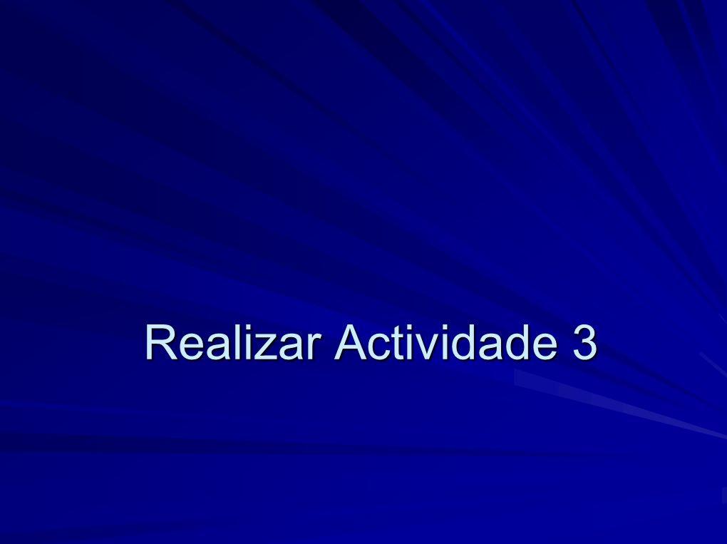 Realizar Actividade 3