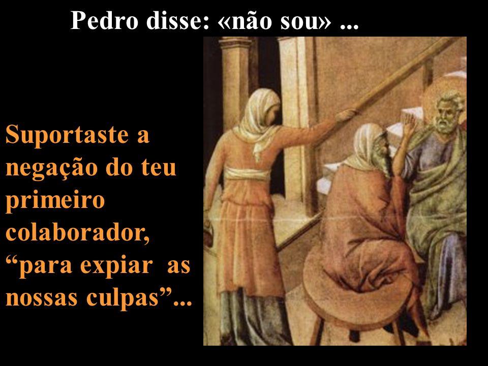 Pedro disse: «não sou» ...