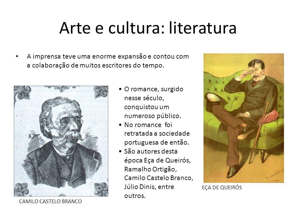 Arte e cultura: literatura