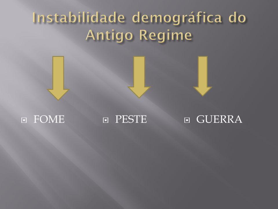 Instabilidade demográfica do Antigo Regime